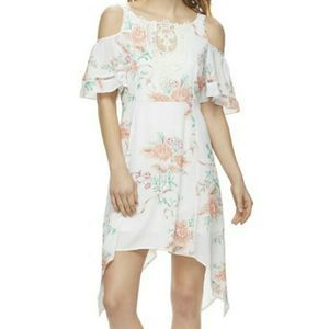 Disney Beauty and the Beast Floral Dress S